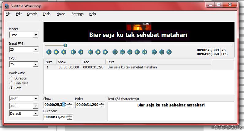 How: Create Softsub/ Hardsub Video Translation from LRC File
